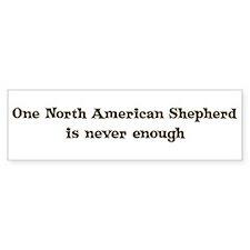 North American Shepherd Bumper Bumper Sticker