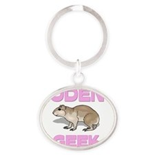 RODENT8192 Oval Keychain