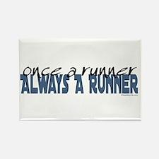 Once A Runner... Rectangle Magnet