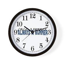 Once A Runner... Wall Clock