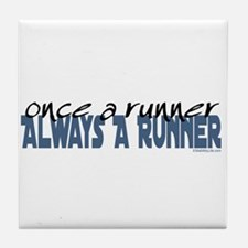 Once A Runner... Tile Coaster