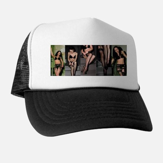 Mistress Trish's Leg & Stocking Trucker Hat
