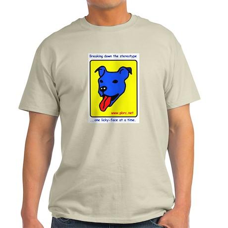 Blue Dog Ash Grey T-Shirt