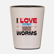 WORMS1463 Shot Glass
