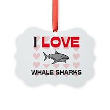 WHALE-SHARKS7316 Ornament