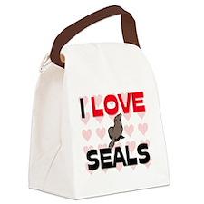 SEALS12175 Canvas Lunch Bag