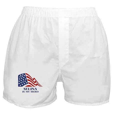 Selina is my hero Boxer Shorts