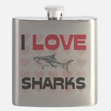 SHARKS11074 Flask