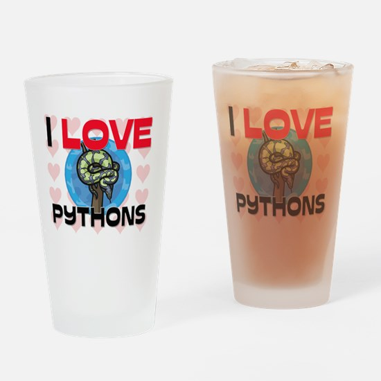 PYTHONS7112 Drinking Glass