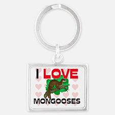 MONGOOSES43171 Landscape Keychain
