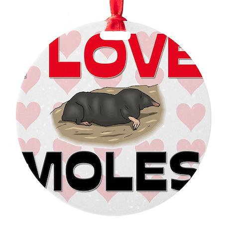 MOLES149174 Round Ornament