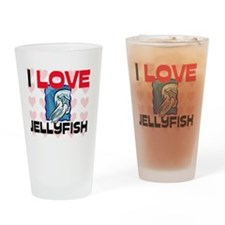JELLYFISH83217 Drinking Glass