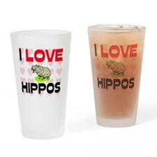 HIPPOS13232 Drinking Glass