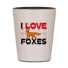 FOXES61271 Shot Glass