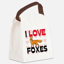 FOXES61271 Canvas Lunch Bag