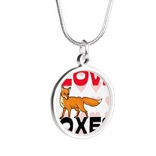 FOXES61271 Silver Round Necklace