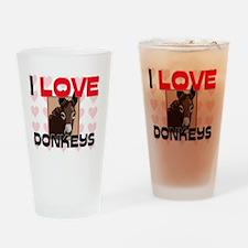 DONKEYS105295 Drinking Glass