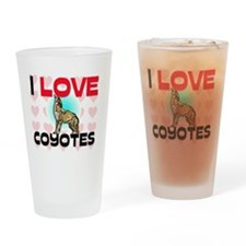 COYOTES22312 Drinking Glass