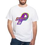 AUTISM Ribbon White T-Shirt