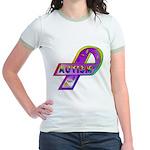 AUTISM Ribbon (2-Sided) Jr. Ringer T-Shirt