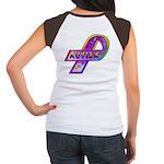 AUTISM Ribbon (OnBack) Women's Cap Sleeve T-Shirt
