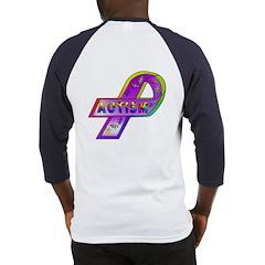 AUTISM Ribbon (OnBack) Baseball Jersey