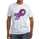 AUTISM Ribbon Fitted T-Shirt