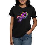 AUTISM Ribbon Women's Dark T-Shirt