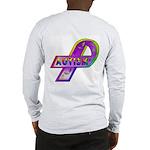 AUTISM Ribbon (OnBack) Long Sleeve T-Shirt