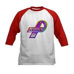AUTISM Ribbon (2-Sided) Kids Baseball Jersey
