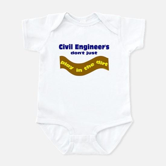 Civil Engineers Play Infant Bodysuit