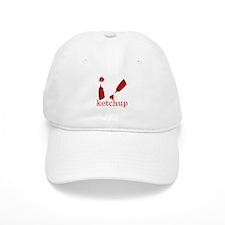 I love Ketchup Baseball Cap