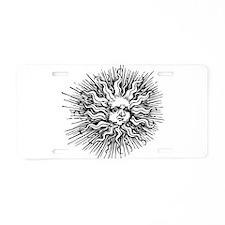 Sun Shine Aluminum License Plate
