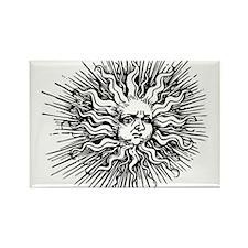 Sun Shine Rectangle Magnet