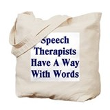 Speech therapy Totes & Shopping Bags