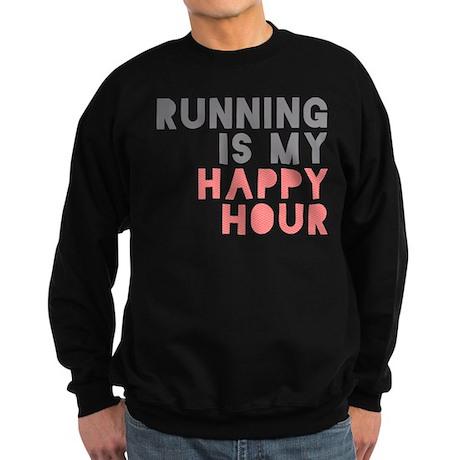 Running Is My Happy Hour Sweatshirt