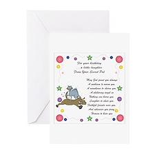 Secret Pal Birthday Greeting Cards (Pk of 10)