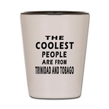 The Coolest Trinidad And Tobago Designs Shot Glass