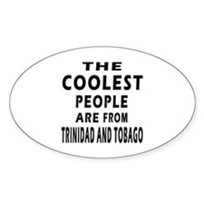 The Coolest Trinidad And Tobago Designs Decal