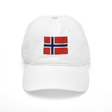 antiqued Norwegian flag Baseball Baseball Cap
