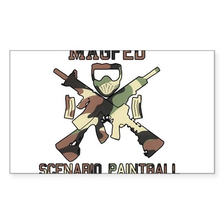MAGED Scenario Paintball Sticker