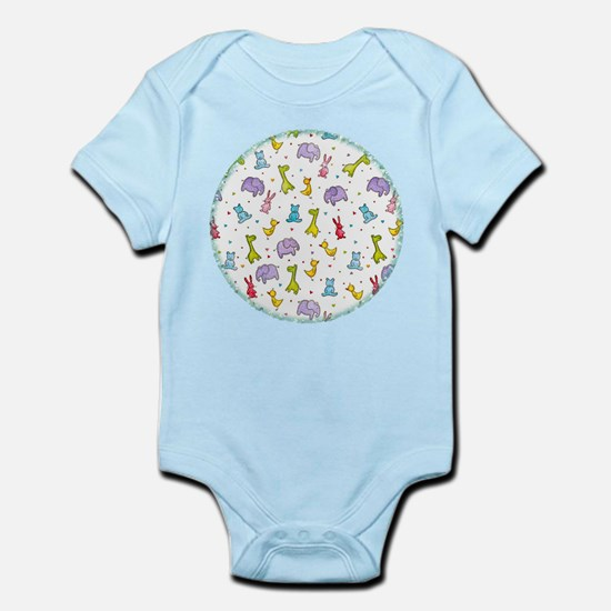 Animal Print Infant Bodysuit