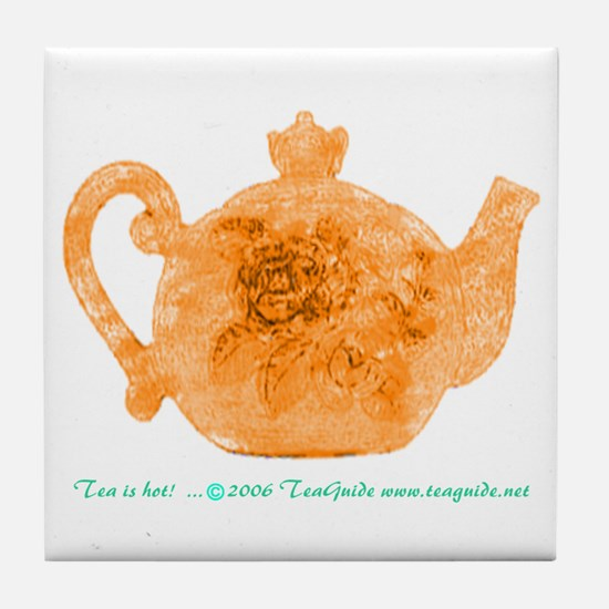 Teapot Tile Coaster