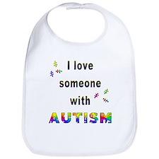 I Love Someone With Autism! Bib