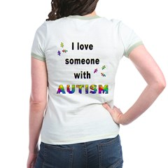 I Love Someone With Autism! (BackDesign) T