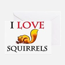 SQUIRRELS6950 Greeting Card