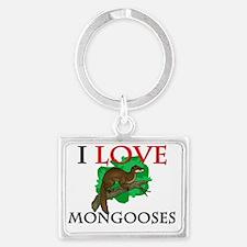 MONGOOSES68171 Landscape Keychain