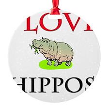 HIPPOS57232 Ornament
