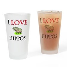 HIPPOS57232 Drinking Glass