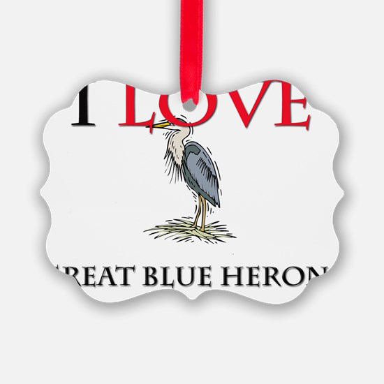 GREAT-BLUE-HERONS137252 Ornament